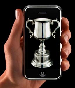 iphone-ganador-trofeo