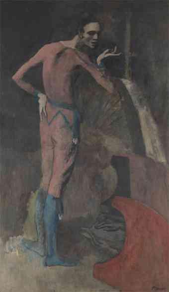 Un codazo destruye un cuadro de Picasso 3