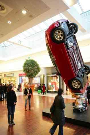 La publicidad de Alfa Romeo durante el Salón de Bruselas 20