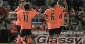 El Tenerife perdona y el Barcelona le golea