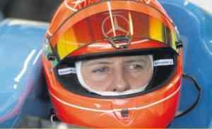 Michael Schumacher pone límites ... ¡el campeonato del mundo! 3