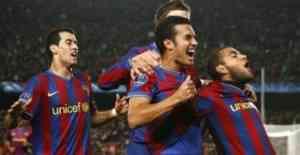 El Barcelona sufre, pero gana a un buen Málaga 3