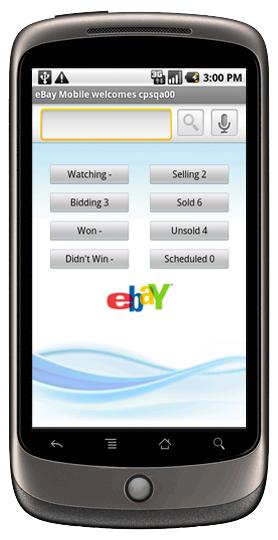 eBay ahora en Android 3