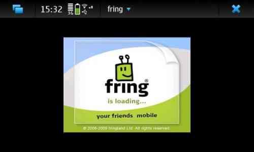 Fring disponible para el Nokia N900 (Maemo) 3