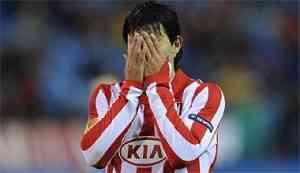 Al Atlético de Madrid se le acabó la suerte ante el Galatasaray 3