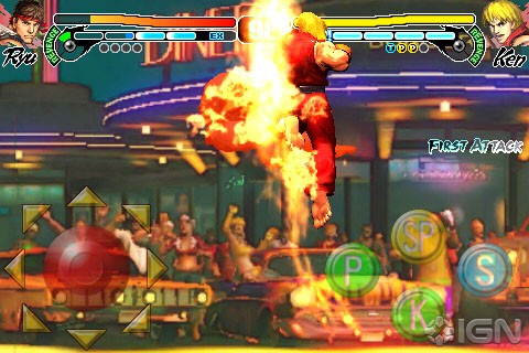 Street Fighter IV pronto para iPhone / iPod touch 5