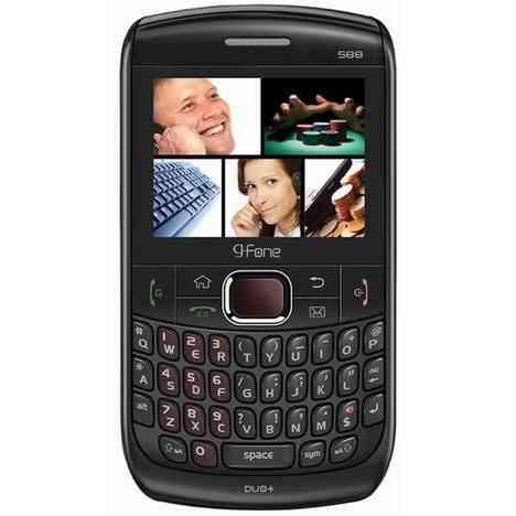 G-Fone G588 , una BlackBerry dual SIM 5