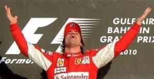 Fernando Alonso gana en Bahrein el día de su debut con Ferrari 3