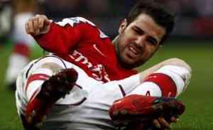 Cesc Fabregas podría ser baja, Iniesta no estará 3