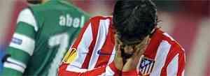 El Atlético no pudo con un Sporting de Lisboa en inferioridad 3
