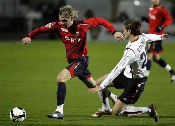 El Sevilla deberá tener cuidado con Milos Krasic 3