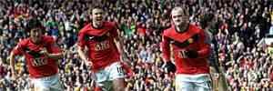 Rooney guia al Manchester United al liderato 3