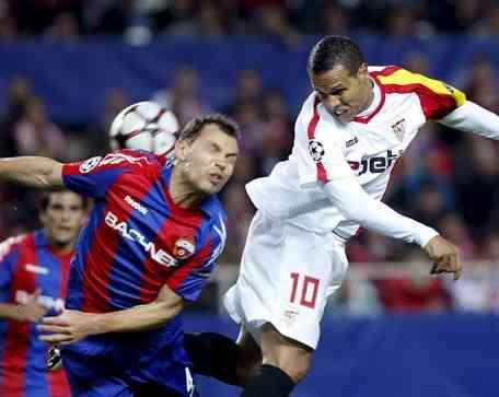 Crónica: Sevilla 1 - 2 CSKA de Moscú 3