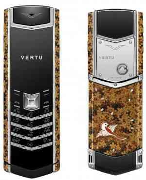 Vertu presenta sus cuatro móviles de lujo: Kinko, Kikusui, Nanten y Daigo