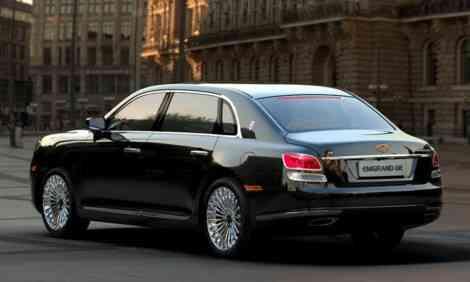 El Rolls Phantom chino (a.k.a Geely GE) se renueva 17