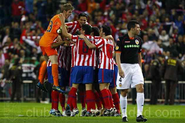 Empate discutido que le da el pase al Atlético de Madrid 3