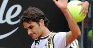 Federer se cae a las primeras de cambio en Roma 5