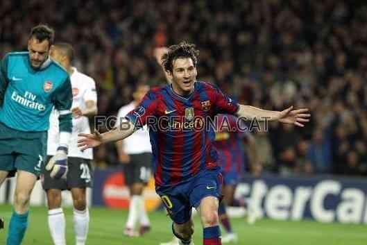 Messi entra en el olimpo de los dioses 3