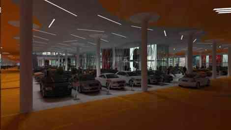 Autopia Europia, 200 concesionarios en un solo edificio en Turquía 35