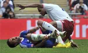 Mickael Ballack se queda sin Mundial 3
