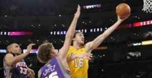 Los Lakers bailan al son de Pau y Kobe 3