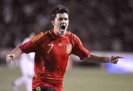 Villa marca 2 goles a Honduras en el Mundial