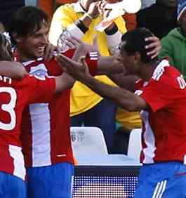 Paraguay, con pie y medio en octavos de final 3