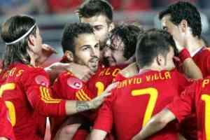 España golea a una floja Polonia 3