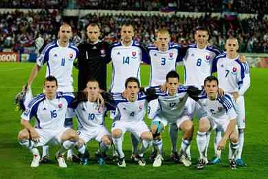seleccion eslovaquia