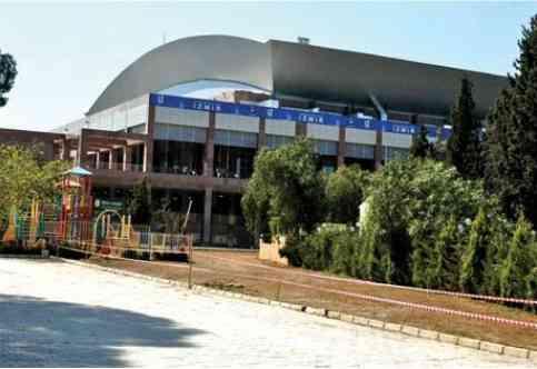 pabellón halkapinar spor salonu Ataturk spor kompleksi