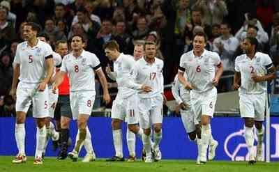 Inglaterra se juega la clasificación ante eslovenia