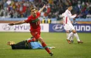 Portugal Vs Brasil, primer partido serio del mundial 3