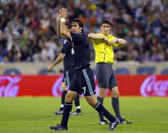 Raúl González le dice adiós al Real Madrid 3