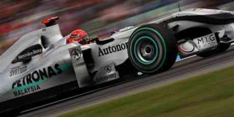 Michael Schumacher cambia el chip en Hungría 3