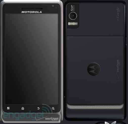 Rumor: captura del supuesto Motorola Droid 2 3