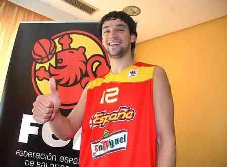 Sergio Llull camiseta seleccion espanola