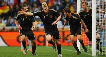alemania celebra gol frente a argentina