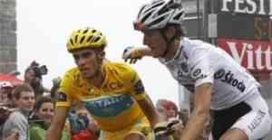 Pacto de no agresión entre Alberto Contador y Andy Schleck 3