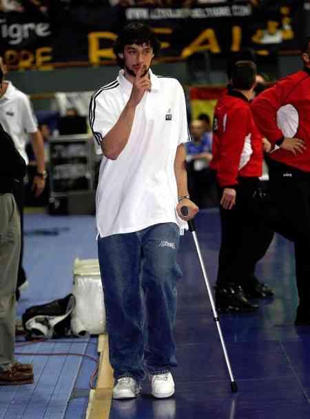 llul lesionado en la seleccion espanola baloncesto