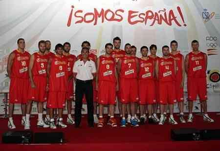 seleccion baloncesto espana en su presentacion