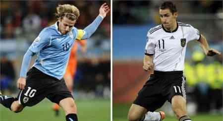 uruguay alemania tercer y cuarto puesto