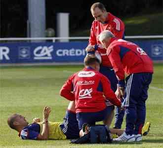 Otro más... Benzema se lesiona 3