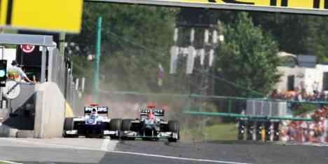 Michael Schumacher se lleva la sanción a Spa 3