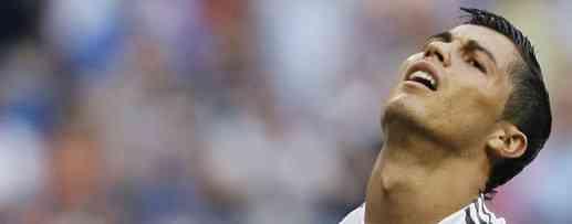 Cristiano Ronaldo lesión