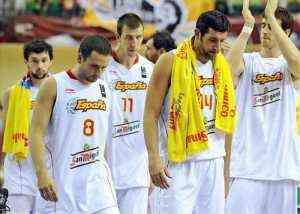 España pierde contra lituania