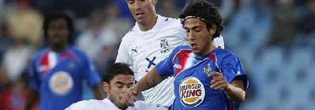 Parejo marca con el Getafe en la Europa League