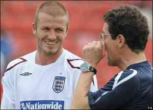Capello cierra las puertas de la selección inglesa a David Beckham