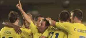 El Villareal golea al Dnepr Mogilev 3