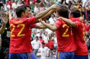 España empata contra México en un partido soso 5