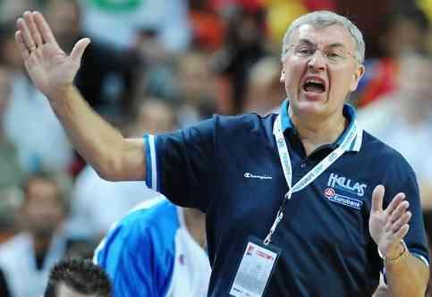 kazlauskas entrenador baloncesto de grecia